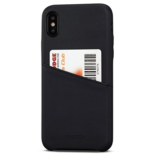 """Funda de piel PU """"Venice"""" para iPhone X de CASEZA El modelo """"Venice"""" de CASEZA es la funda ideal para su iPhone X. Su teléfono quedará protegido de manera óptima sin ver sacrificado el fino diseño del iPhone X. El bolsillo para tarjetas de crédito le..."""