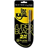 Maybelline New York Colossal Kajal, Super Black, 0.35g