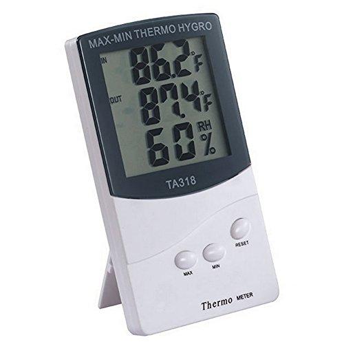 summeryoung Digital Innen/Außentemperatur Station LCD-Thermometer Pearl Power Station