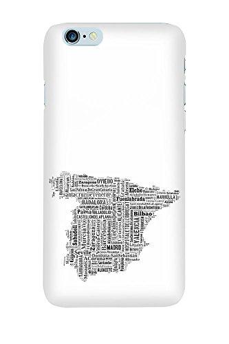 iPhone 4/4S Coque photo - Espagne Carte Noire