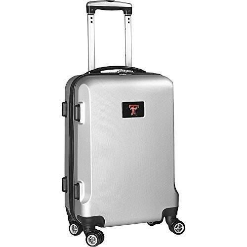 ncaa-texas-tech-red-raiders-carry-on-hardcase-spinner-silver-by-denco