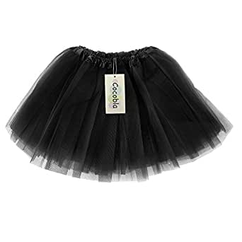Imixcity Women Elastic Stretchy Tulle Dress (Black)