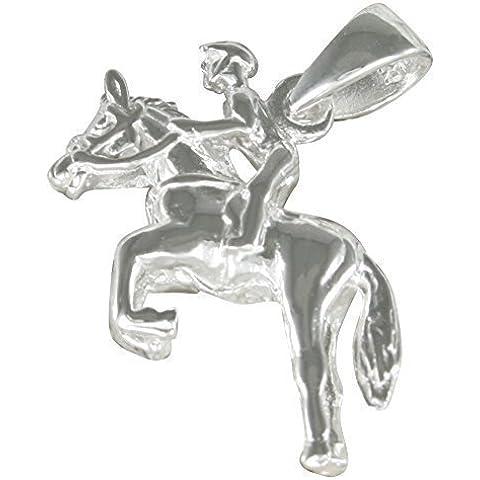 Ciondolo in 925-argento Jockey
