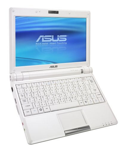 Asus Eee PC 900 22,6 cm (8,9 Zoll) WSVGA Netbook (Intel, 1GB RAM, 12GB, XP Home) Weiss - 1 Gb Asus Notebook