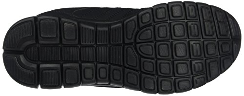 Toughees Shoes Elana Flex Velcro, Scarpe da Corsa Unisex – Bambini, Black Black (Black)