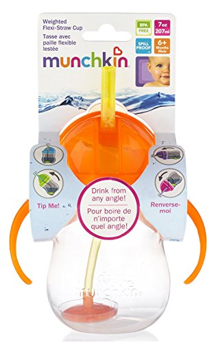 munchkin-click-lock-7-ounce-weighted-straw-flexi-cup-orange