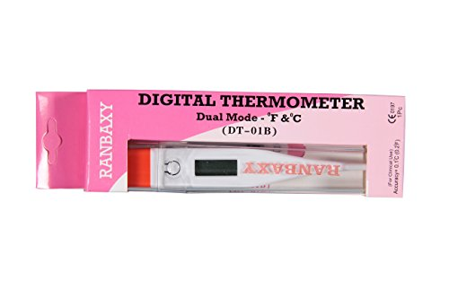 ranbaxy Digital Thermometer DT-01B  available at amazon for Rs.180