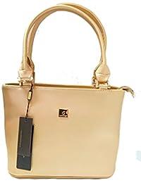 Shimmer Woman Golden Handbag - Handbag For Woman By Kinderhut