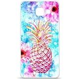1001 Coques - Coque en silicone Samsung Galaxy A3 2016 - Ananas