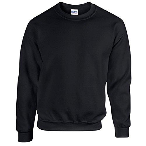 Gildan - Heavy Blend Sweatshirt - S, M, L, XL, XXL, 3XL, 4XL, 5XL / Black, 3XL