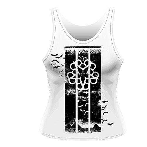 Black Veil Brides - Girl-Tank Top Bat Country (in M) (Glam Baumwolle Rock)
