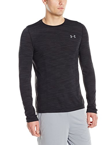 Under Armour HeatGear Threadborne Seamless Trainingsshirt Herren schwarz