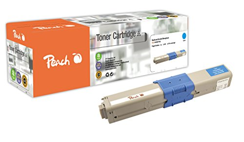 Preisvergleich Produktbild Peach Tonermodul cyan kompatibel zu OKI 44469706
