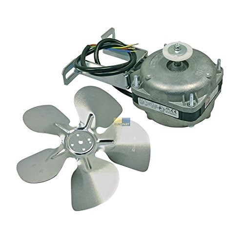 Kühlgeräte Ventilator Lüfter 5 Watt, 230 Volt mit Haltebügel und Flügel 200 mm Ø