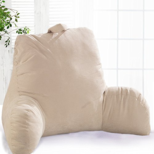 pregnancy-spinal-support-cushion-with-arms-in-cream-suede-reading-lounger-lumbar-rest