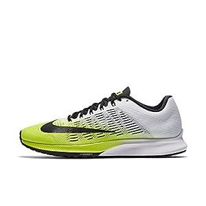 Nike Air Zoom Elite 9unidad para hombre, amarillo neón, blanco