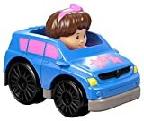 Little People Fisher Price Wheelies Push Cars Set of 4 Inc Rally Car, SUV & Pick-up style cars - S8