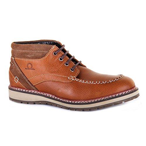 ChathamAlbion - Stivaletti uomo , marrone (Brown (Tan)), 42.5