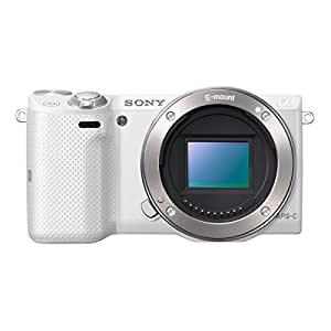 "Sony NEX-5TLW Kit Reflex Numérique 3"" (7,62 cm) 16 Mpix USB/HDMI + Objectif 16-50 mm Blanc"