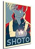 """Poster My Hero Academia """"Propaganda"""" Shoto - Formato A3 (42x30 cm)"""