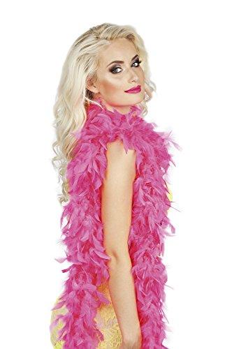 erdbeerloft - Boa Feder Schal Kostüm, Pink