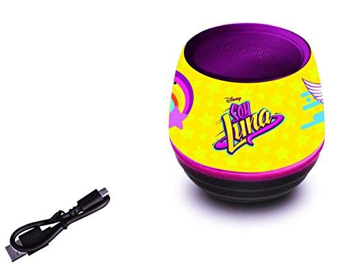 Soy Luna - Mini altavoz con Bluetooth 3W (Lexibook BT015SL)