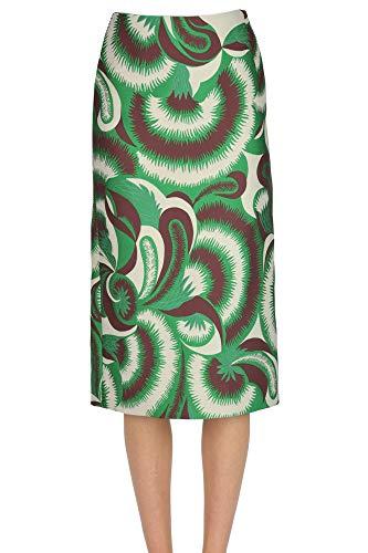 Dries van Noten Jacquard Fabric Skirt Woman Multicoloured 34 FR