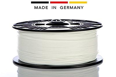 Material 4 Print - 3D-Filament - Weiss - PLA-Kunststoffdraht - Ø 1,75mm 1kg 3D-Druckmaterial