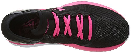 Under Armour Damen UA W Speedform Conquer RF Turnschuhe Rot/Schwarz