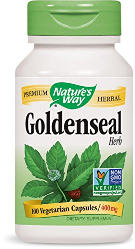Nature's Way Goldenseal Herb (100 Capsules)