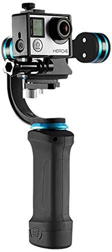 Neewer 3ejes sin escobillas motor Gimbal Estabilizador de mano y kit de limpieza para GoPro Hero 3+/4y smartphones (2.2–3.6cm Ancho) como iPhone 7/7Plus/6S/6S Plus, Samsung Galaxy S6(nwhg-01)