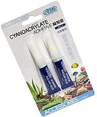 Royal Pet ISTA 4g Aquarium Cyanoacrylate Adhesive Coral Frags Glass Ceramics Super Glue (Pack of 2)