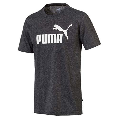 Puma ess, maglietta uomo, nero (black heather), m