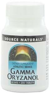 Source Naturals - Gamma Oryzanol 60 mg - 200 Comprimés