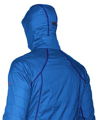 Vaude Herren Bormio Jacket Hydroblue/Lava