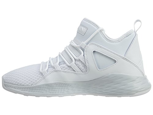Nike Jordan Formula 23 Scarpe Sportive Uomo Nere White / White-pure Platinum
