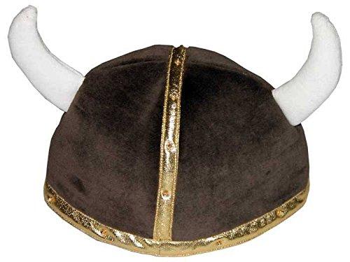 König Für Wikinger Kostüm Erwachsene - Faschingskostüm Wikingerhelm M