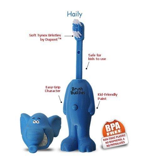 Brosse Buddies manuel Poppin Haily Brosse à dents