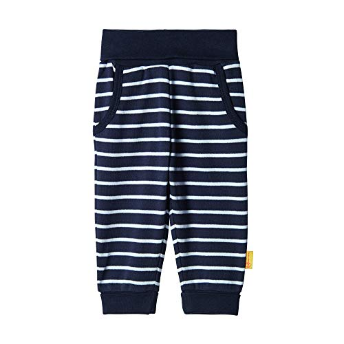 Steiff Baby-Jungen Hose, Blau (BLACK IRIS 3032), 80 (Herstellergröße:80)