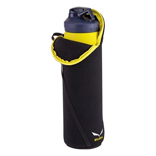 SALEWA Erwachsene Thermotasche Flaschen 0.75 L Bottle, schwarz, UNI