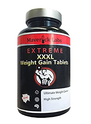 Anabolic Weight Gainer (XXXL) Capsules - Ultimate Formula For More Muscle, More Mass from Maverick Labs