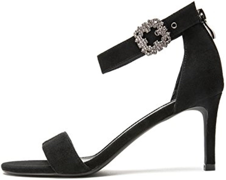 DHG Sandali estivi, Pantofole da donna alla moda, Sandali piatti casual, Sandali con tacco basso a tacco basso... | Lascia che i nostri prodotti vadano nel mondo  | Uomini/Donna Scarpa