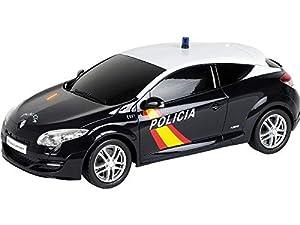 Mondo Toys Coche de radiocontrol Modelo Replica a Escala 1/24 de Renault Megane de Policia Nacional (63167), Multicolor, 1:24 (Colorbaby 40335)