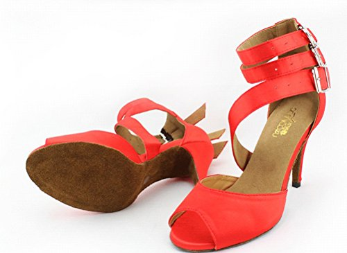 Cfp - Femme Danse-moderne Rouge
