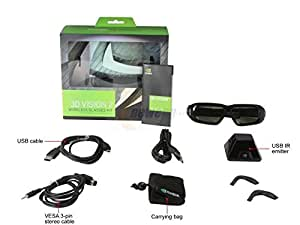 Nvidia 3d Vision 2 Glass Kit with Emitter