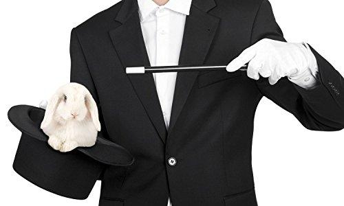 Preisvergleich Produktbild Zauberer Kostüm Zubehör Set (59er Hutgröße)