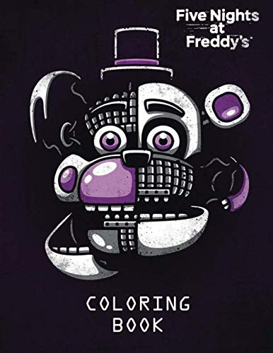 Five Nights at Freddy's Coloring Book for Kids and Adults - 40 illustrations por Kelly Brixton