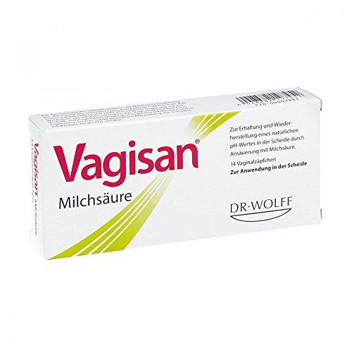 Vagisan Milchsäure Vaginalzäpfchen 14 stk