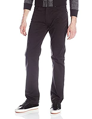 Armani Jeans Regular Fit Gabardine Jeans Black