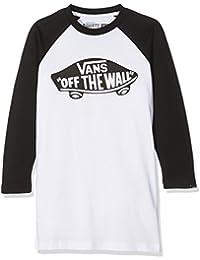 Vans_Apparel Otw Raglan S, T-Shirt Garçon, Blanc